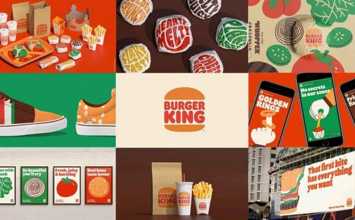 """burger king new image 1200 - بازنگری در هویت بصری رستوران های زنجیره ای """"برگرکینگ"""" پس از 20 سال!"""