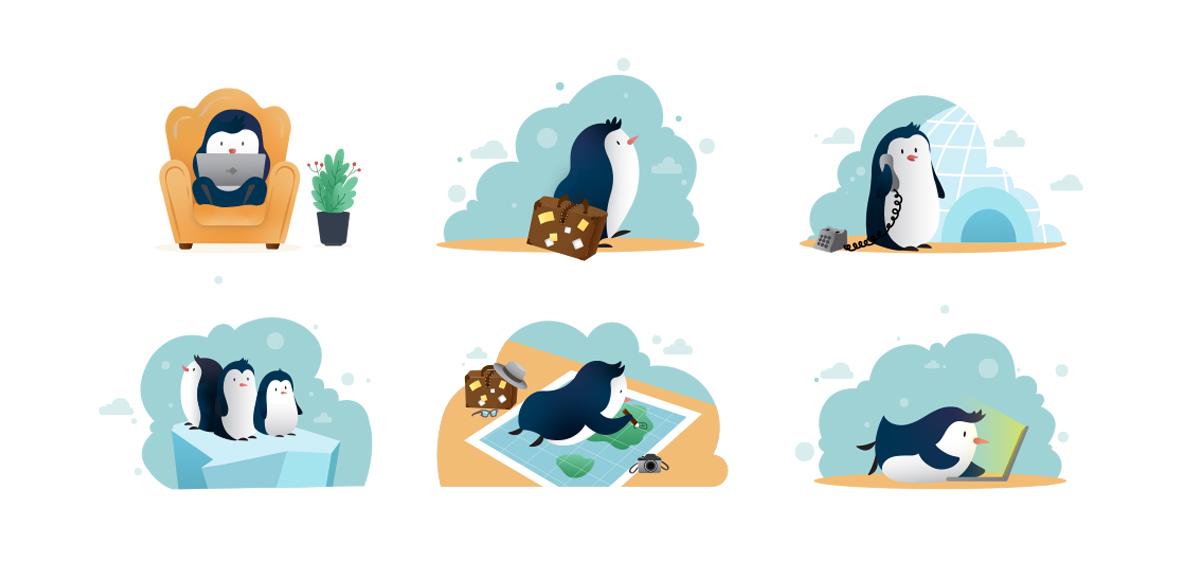 مسکات پنگوئن